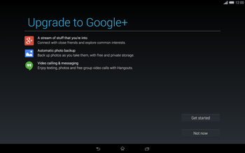 Sony Xperia Tablet Z2 LTE - Applications - Setting up the application store - Step 21