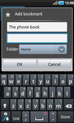 Samsung I9000 Galaxy S - Internet - Internet browsing - Step 8