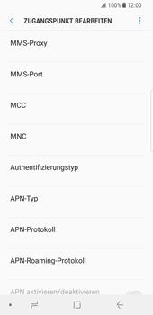 Samsung Galaxy S8 - Internet - Apn-Einstellungen - 14 / 38
