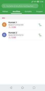 LG G6 - Android Oreo - Anrufe - Anrufe blockieren - Schritt 3