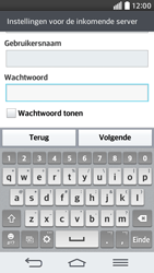 LG D620 G2 mini - E-mail - Account instellen (IMAP met SMTP-verificatie) - Stap 12