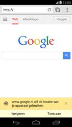 LG D821 Google Nexus 5 - internet - hoe te internetten - stap 11