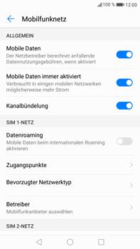 Huawei Mate 9 - Internet und Datenroaming - Prüfen, ob Datenkonnektivität aktiviert ist - Schritt 6