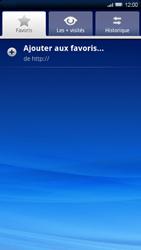 Sony Xperia X10 - Internet - Navigation sur Internet - Étape 6