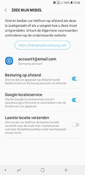 Samsung Galaxy A9 - Beveiliging en privacy - zoek mijn mobiel activeren - Stap 9