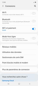 Samsung Galaxy A51 5G - Internet et connexion - Désactiver la connexion Internet - Étape 5