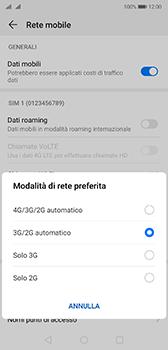 Huawei P20 - Android Pie - Rete - Come attivare la connessione di rete 4G - Fase 6