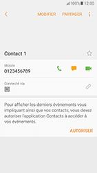 Samsung Galaxy A5 (2017) (A520) - Contact, Appels, SMS/MMS - Ajouter un contact - Étape 7
