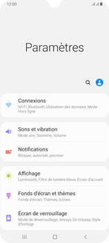 Samsung Galaxy A70 - Wifi - configuration manuelle - Étape 3