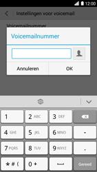 Huawei Ascend G6 - voicemail - handmatig instellen - stap 8
