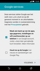 HTC One M9 - apps - account instellen - stap 14