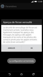 HTC Desire 816 - Sécuriser votre mobile - Activer le code de verrouillage - Étape 11