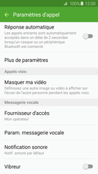 Samsung G925F Galaxy S6 Edge - Messagerie vocale - configuration manuelle - Étape 7