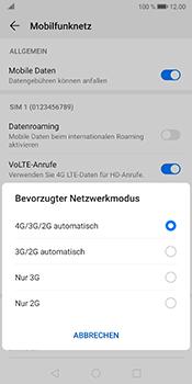 Huawei Mate 10 Pro - Android Pie - Netzwerk - Netzwerkeinstellungen ändern - Schritt 6