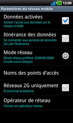 LG P970 Optimus Black - Réseau - utilisation à l'étranger - Étape 9