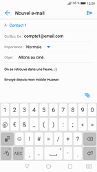 Huawei P9 - Android Nougat - E-mail - envoyer un e-mail - Étape 9