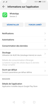 Huawei P30 - Applications - Supprimer une application - Étape 6