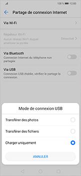 Huawei Mate 20 lite - Internet et connexion - Utiliser le mode modem par USB - Étape 6