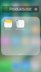 Apple iPhone 5s iOS 10 - Startanleitung - Personalisieren der Startseite - Schritt 7
