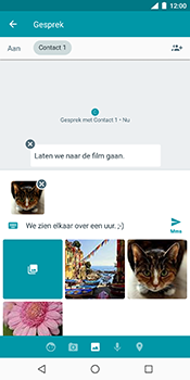 Nokia 7 Plus - MMS - afbeeldingen verzenden - Stap 16