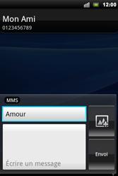 Sony Ericsson Xperia Mini Pro - MMS - envoi d'images - Étape 9