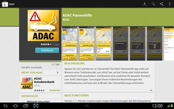 Samsung Galaxy Tab 2 10-1 - Apps - Herunterladen - 0 / 0