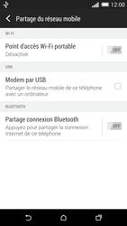 HTC One (M8) - Internet et connexion - Utiliser le mode modem par USB - Étape 7
