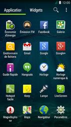 Acer Liquid Z410 - Internet - Navigation sur Internet - Étape 2