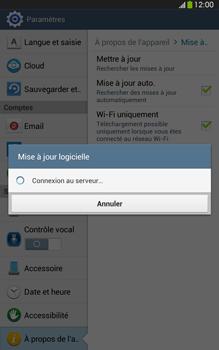 Samsung Galaxy Tab 3 8-0 LTE - Logiciels - Installation de mises à jour - Étape 9