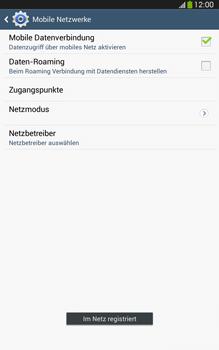 Samsung Galaxy Tab 3 8-0 LTE - Netzwerk - Manuelle Netzwerkwahl - Schritt 10