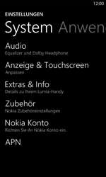 Nokia Lumia 820 LTE - Internet - Manuelle Konfiguration - Schritt 8