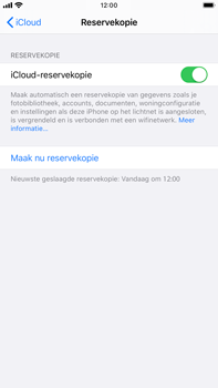 Apple iPhone 8 Plus - iOS 13 - Data - Maak een back-up met je account - Stap 14