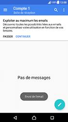 Sony Xperia XA (F3111) - Android Nougat - E-mail - Envoi d