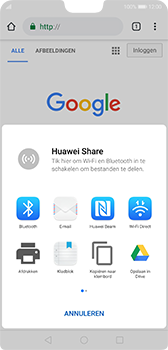 Huawei P20 - Android Pie - internet - hoe te internetten - stap 20