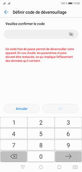 Huawei P20 - Sécuriser votre mobile - Activer le code de verrouillage - Étape 9