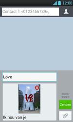 LG P700 Optimus L7 - MMS - afbeeldingen verzenden - Stap 13