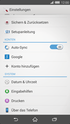 Sony Xperia Z2 - Software - Installieren von Software-Updates - Schritt 5