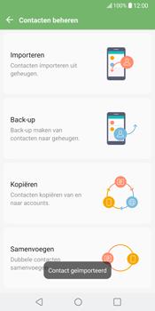 LG V30 (LG-H930) - Contacten en data - Contacten kopiëren van SIM naar toestel - Stap 13
