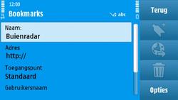 Nokia N97 - internet - hoe te internetten - stap 9