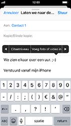 Apple iphone-5s-met-ios-12-model-a1457 - E-mail - Hoe te versturen - Stap 10