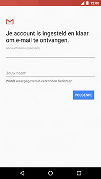 Android One GM5Plus DS - E-mail - handmatig instellen (outlook) - Stap 12