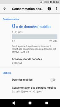 Sony Xperia XA2 Ultra - Internet - Désactiver les données mobiles - Étape 8