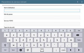 Samsung T535 Galaxy Tab 4 10.1 - E-mail - configuration manuelle - Étape 8