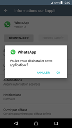 Sony Xperia X - Applications - Supprimer une application - Étape 7