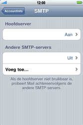 Apple iPhone 3G S - e-mail - handmatig instellen - stap 13