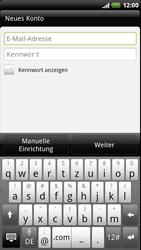 HTC Sensation XE - E-Mail - Konto einrichten - 2 / 2
