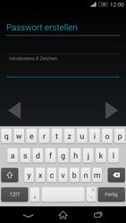 Sony D6603 Xperia Z3 - Apps - Konto anlegen und einrichten - Schritt 12