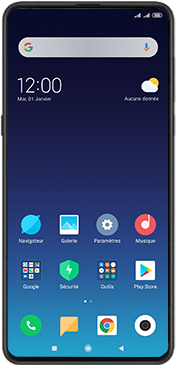 Xiaomi Mi Mix 3 5G - Téléphone mobile - Comment effectuer une réinitialisation logicielle - Étape 2