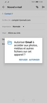 Huawei Y6 (2019) - E-mail - envoyer un e-mail - Étape 10