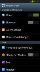 Samsung Galaxy S III - Internet und Datenroaming - Manuelle Konfiguration - Schritt 4